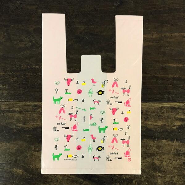 トラネコボンボン お使い袋 Sサイズ 10枚パック(口留めシール付き)