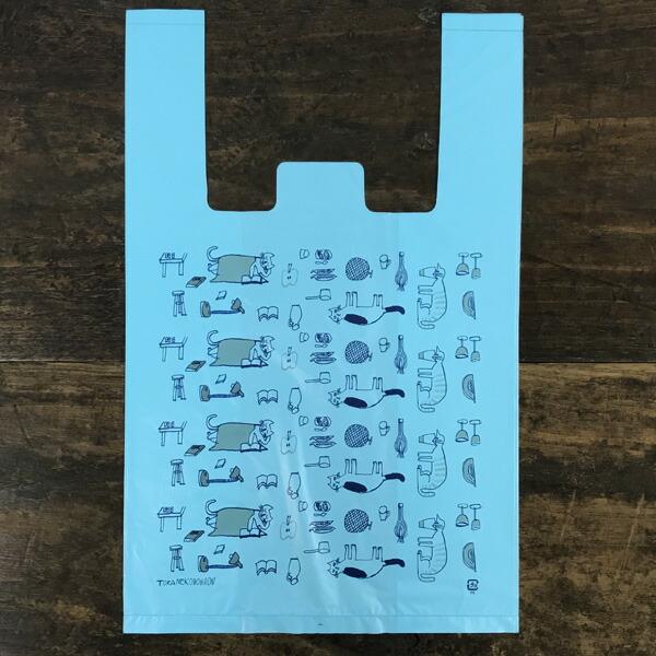 トラネコボンボン お使い袋 10枚パック(口留めシール付き)