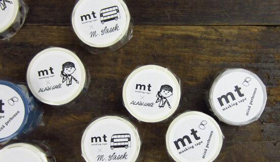 mt×ミナ・ペルホネン マスキングテープ count・pale mix