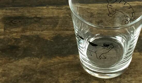 水縞 たましま グラス