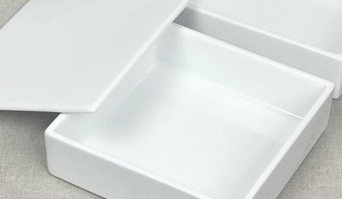 白磁の重箱 三段(大)