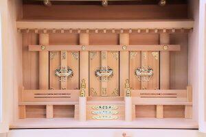 【神具】箱宮神殿16号三社