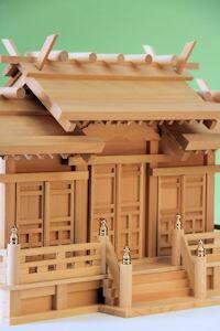 出雲神殿三社(唐戸)(中)