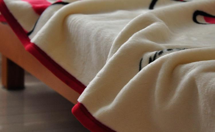 リサ・ラーソン ハーフケット 毛布