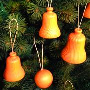 木の玉・木の鐘