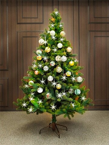195cmクリスマスツリー