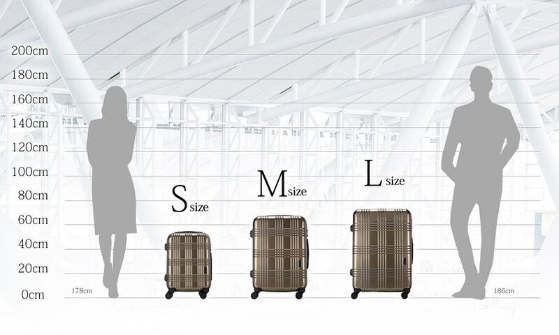 e725d75a8c 楽天市場】スーツケース Mサイズ タイヤロック付き 日本製 HINOMOTO ...