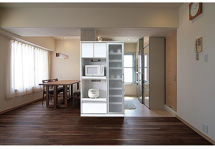 オープン食器棚 幅100cm