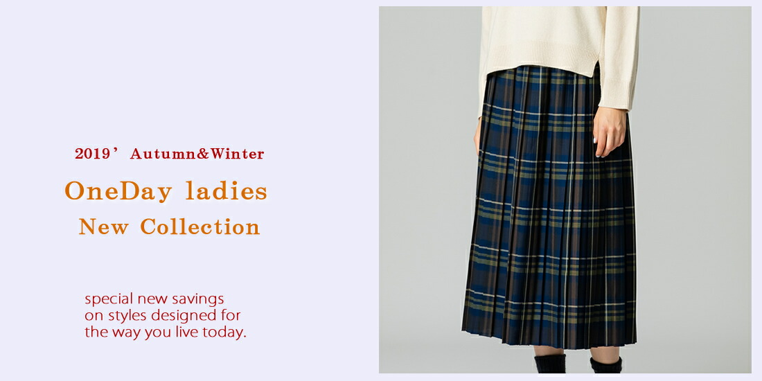 2019 a/w Ledies New Collection