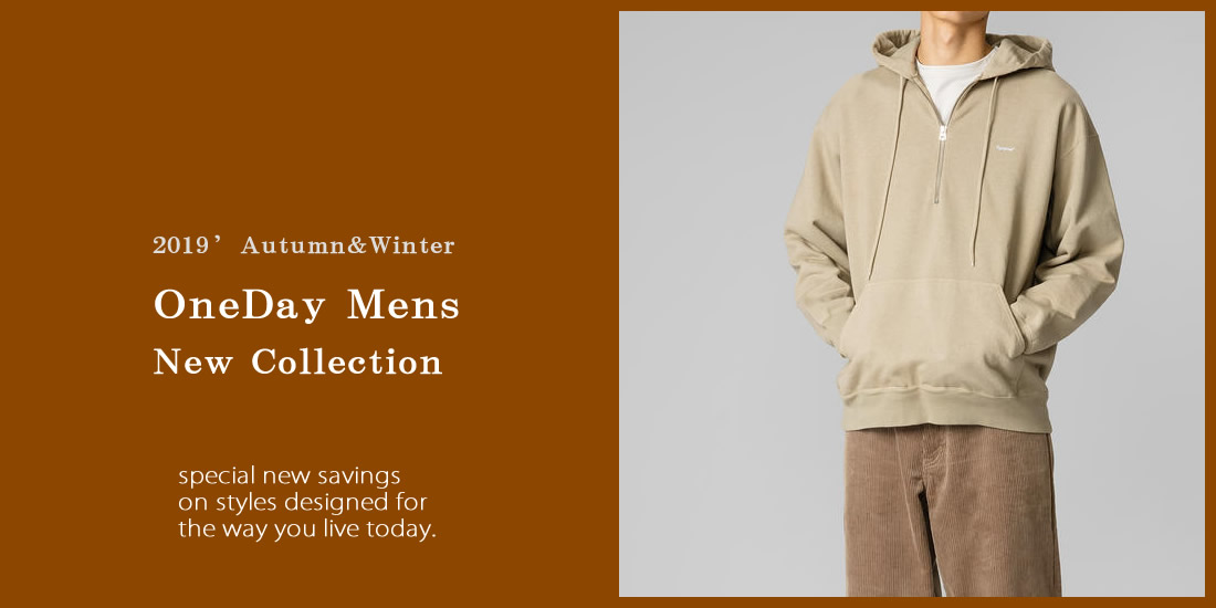 2019 a/w Mens New Collection
