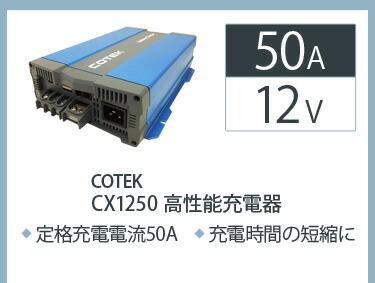 バッテリーチャージャーcx1250