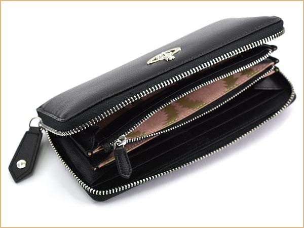 cecfcc44c9a3 財布の表面は傷や汚れが目立ち難い、型押し加工が施され、 内部には柄の入った布素材を使用しています。  専用のボックス付きですので、贈り物としても喜んで頂けること ...