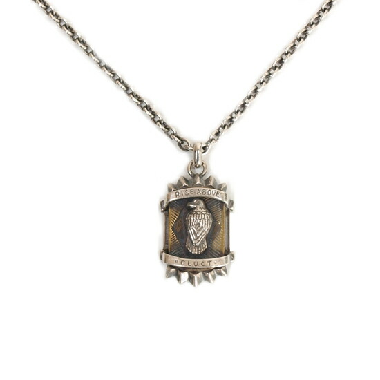 CLUCT クラクト ANTIQUE EAGLE NECKLACE【SILVER】