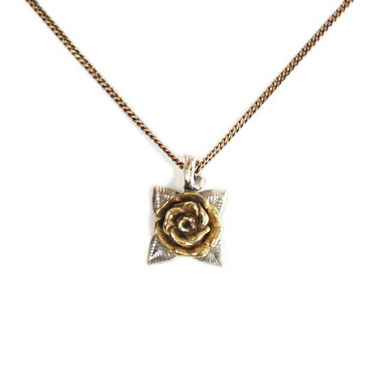 CLUCT クラクト ROSE NECKLACE【ANTIQUE】