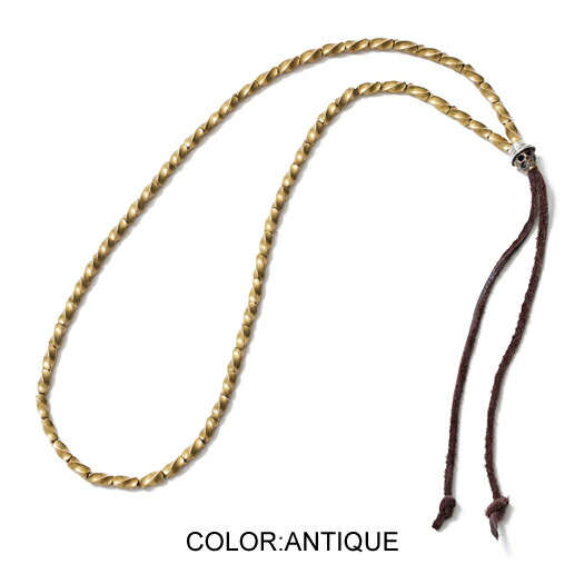 CLUCT クラクト SKULL BEADS NECKLACE
