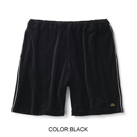 FTC PIPING VELOUR SHORT
