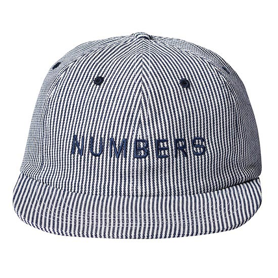 NUMBERS EDITION /ナンバーズエディション WORD MARK DENIM 6 PANEL CAP