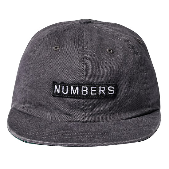 NUMBERS EDITION /ナンバーズエディション LOGO TYPE TWILL 6 PANEL CAP