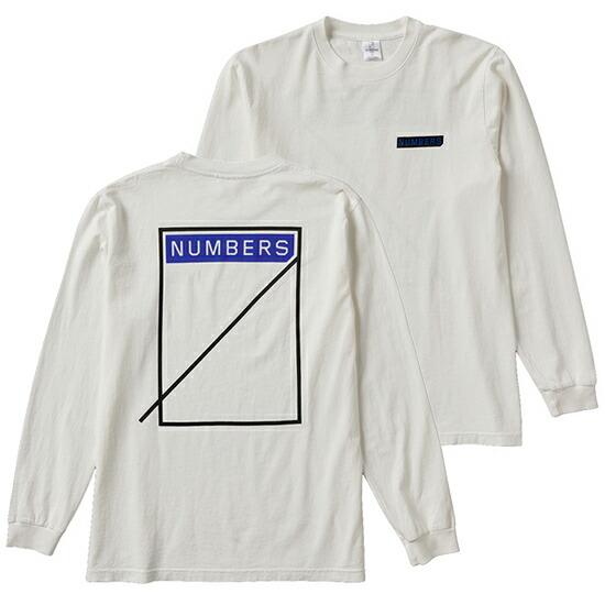 NUMBERS EDITION /ナンバーズエディション LOGOTYPE L/S TEE
