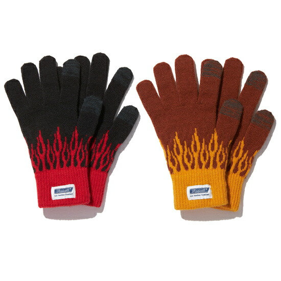 RADIALL ラディアル FLAMES - JACQUARD GLOVES