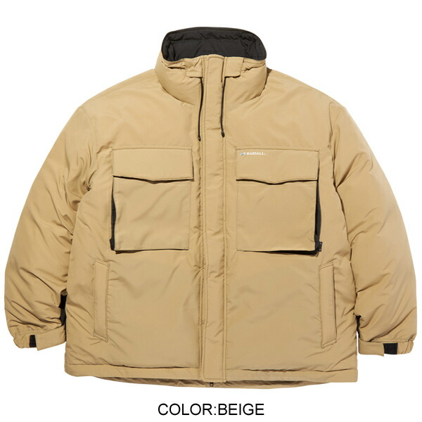 RADIALL ラディアル×STAMMBAUM/LAPAZ - STAND COLLARED DOWN JACKET