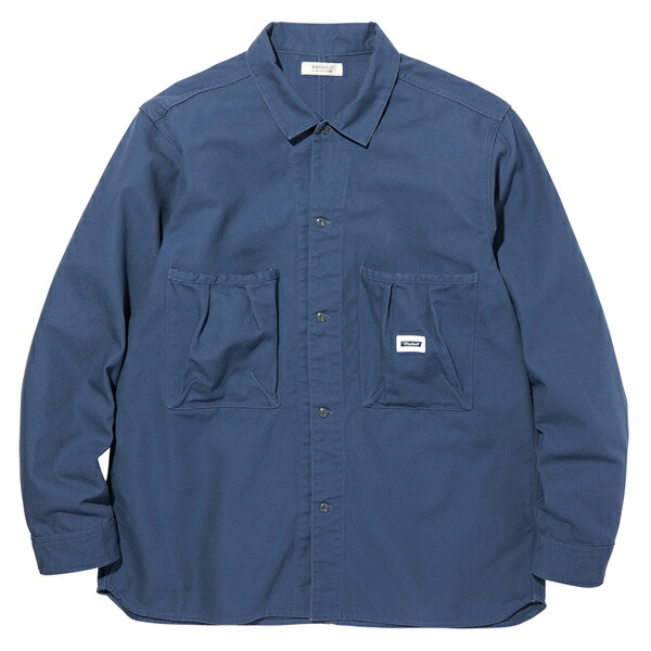 RADIALL ラディアル STEP SIDES REGULER COLLARED SHIRT L/S