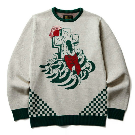 SOFT MACHINE/ソフトマシーン ROCK OF AGES SWEATER
