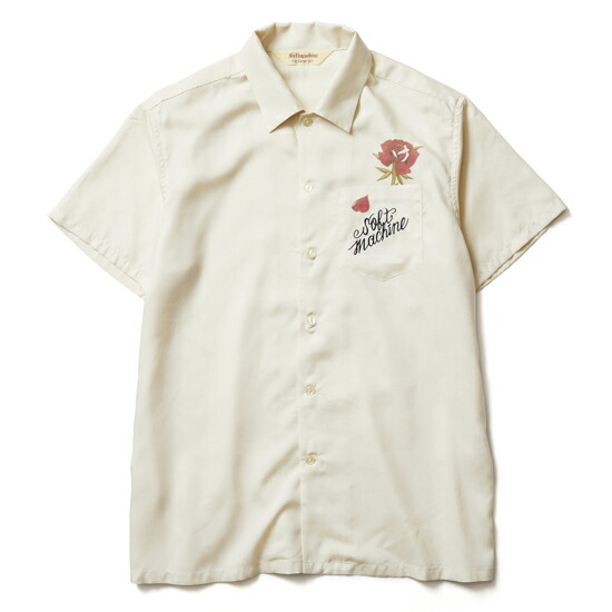 SOFT MACHINE/ソフトマシーン OUT BLOOM SHIRTS S/S