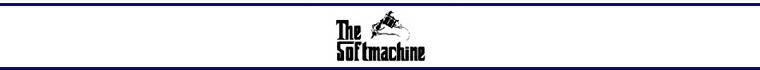 SOFTMACHINE/ソフトマシーン