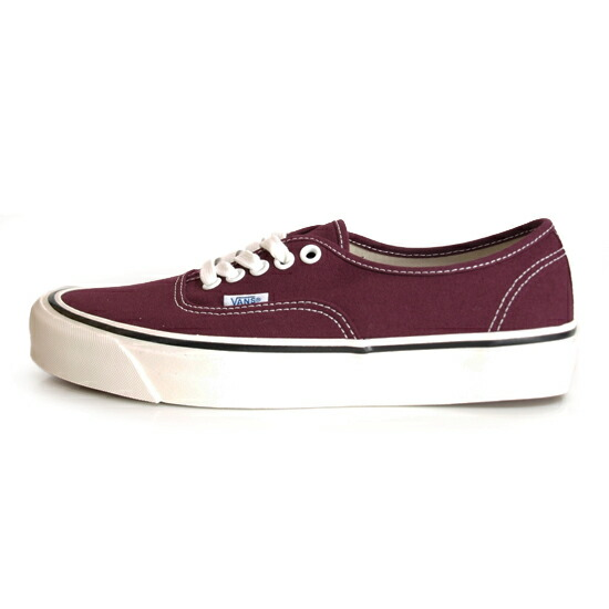 VANS Anaheim Factory AUTHENTIC 44 DX OG BURGUNDY