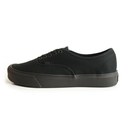 VANS AUTHENTIC LITE + CANVAS BLACK/BLACK
