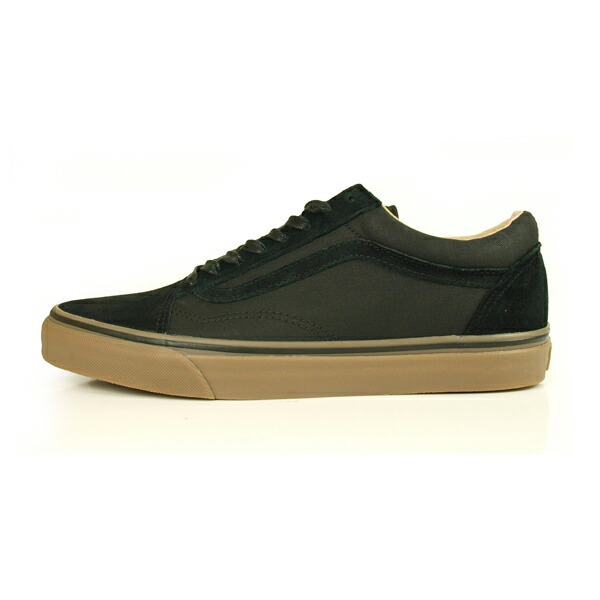 VANS OLD SKOOL REISSUE DX (COATED) BLACK/MEDIUM GUM