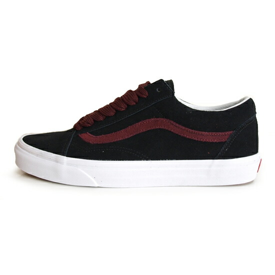 VANS LIFE STYLE OLD SKOOL OVER SIZED LACE [BLACK]