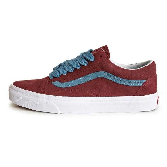 VANS LIFE STYLE OLD SKOOL OVER SIZED LACE [CABERNET]