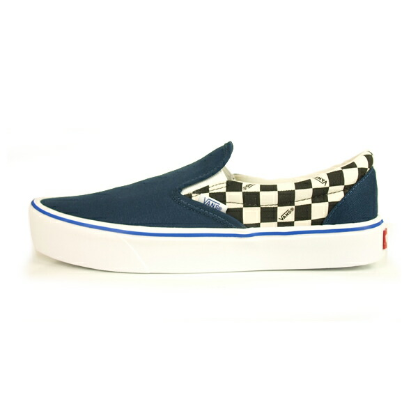 VANS SLIP-ON LITE (CEEING CHECKERS) DORESS BLUE