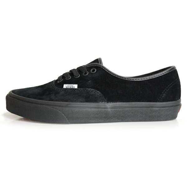 VANS /バンズ AUTHENTIC PIG SUEDE [BLACK/BLACK]
