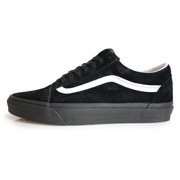 VANS /バンズ OLD SKOOL PIG SUEDE [BLACK/BLACK]
