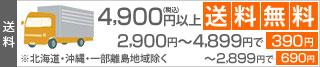 4900円以上送料無料