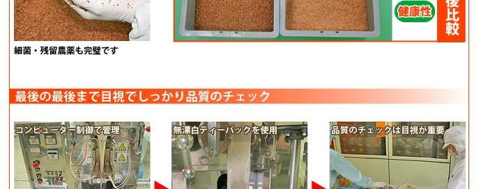 玉ねぎ皮茶の製造8