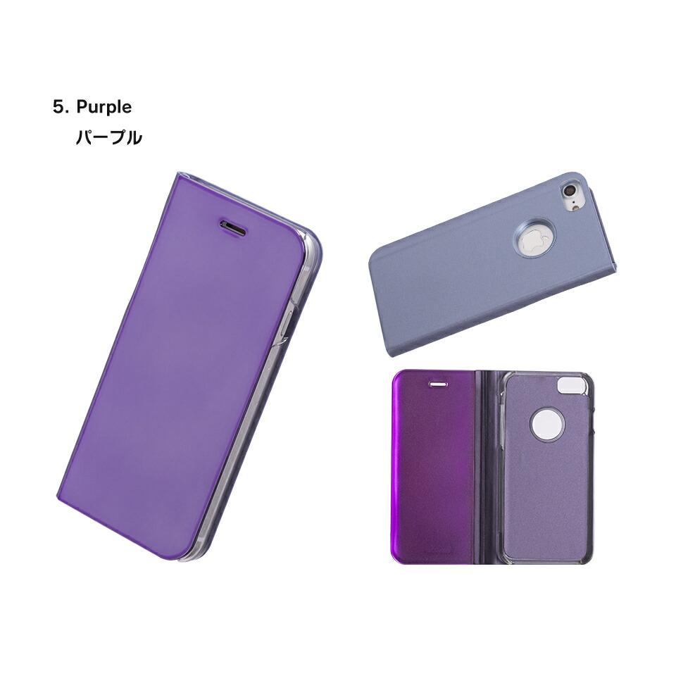 デザインモバイルdesign mobile iphone7 アイフォン7 ソフトケース 鏡 ミラー ケースに着けたまま 軽い 便利 シンプル おしゃれ