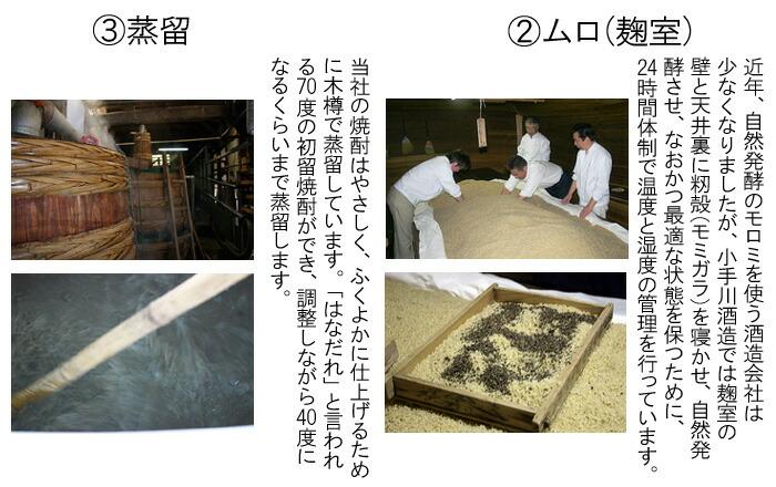 麹室 籾殻 もみがら 自然発酵 蒸留 はなだれ