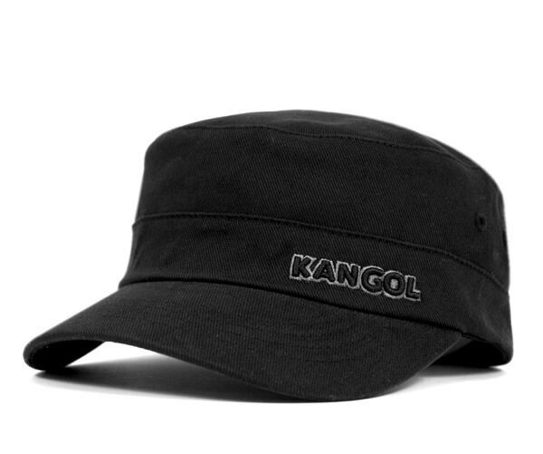 011df9cdf5543 onspotz  KANGOL Cap cotton twill Cap Army military Cap Black KANGOL ...