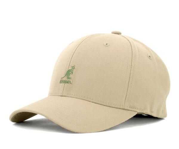 onspotz  KANGOL Flex fit baseball cap beige KANGOL WOOL FLEXFIT ... 29c8b4e5f51