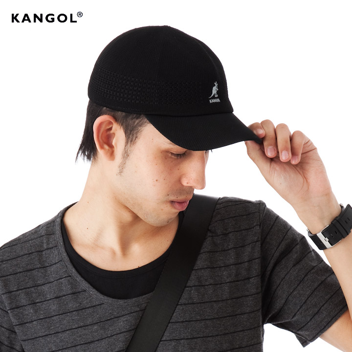 onspotz  KANGOL トロピックベントエア space Cap Black KANGOL TROPIC ... e8cd72222164