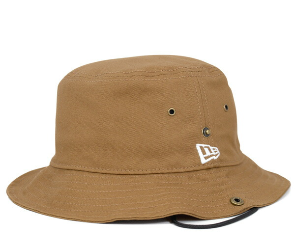 onspotz  New era adventure Hat bucket duck Tan Cap NEWERA BUCKET HAT ... 8c573e95398