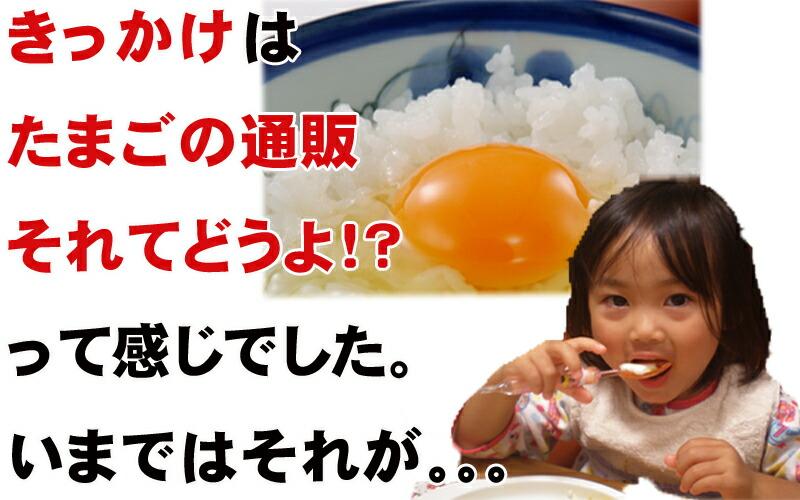 きっかけは卵の通販、それってどうよ?でした。。。