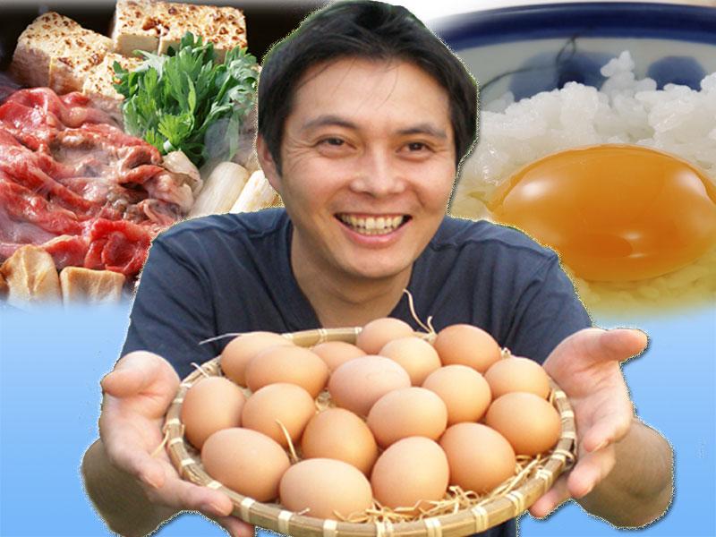 卵を持つ店長