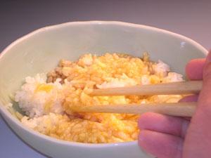 卵かけご飯の作り方3