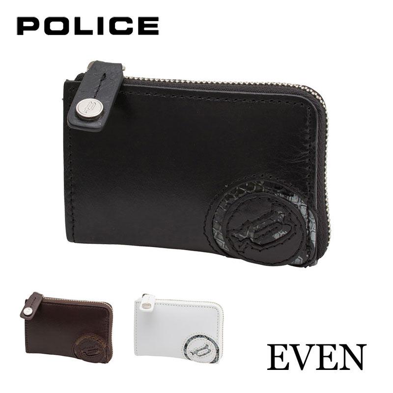 財布 ラウンドファスナー長財布 POLICE EVEN ポリス イーブン 0514 イタリアンレザー
