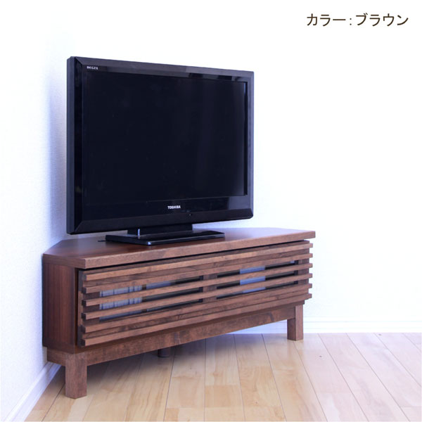 Ookawakaguzanmai Corner Tv Stand Corner Board Snack Lowboard